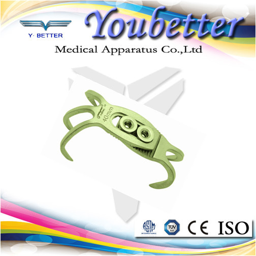 Patella claw plate, trauma plate orthopedic implants