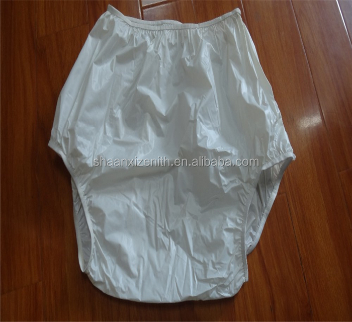 PVC Diaper Pants Protective Incontinence Rubber Adult Baby