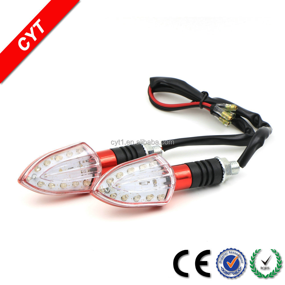 DC12V 2W led Waterproof Motorcycle tail light Turn Signal light WD-A7
