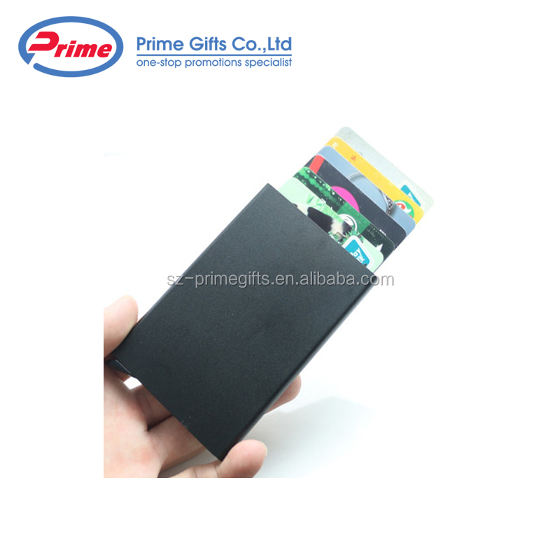 2019 Popular Design Rfid Metal Credit Card Holder with Your Design