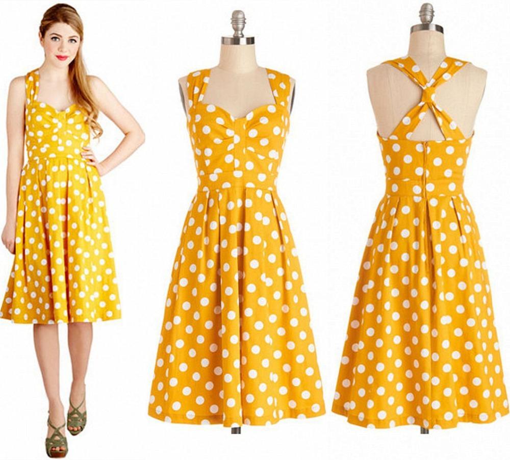 Girls in their summer dresses theme