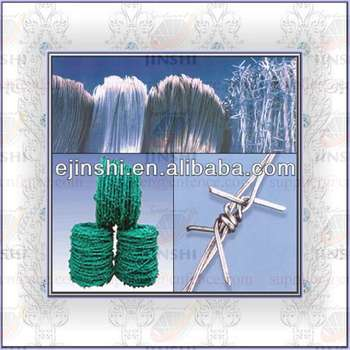 BWG14x14 or BWG16x16 with1.6 mm 2.1mm 2.5mm wire diameter) electric / hot dipped barbed wire