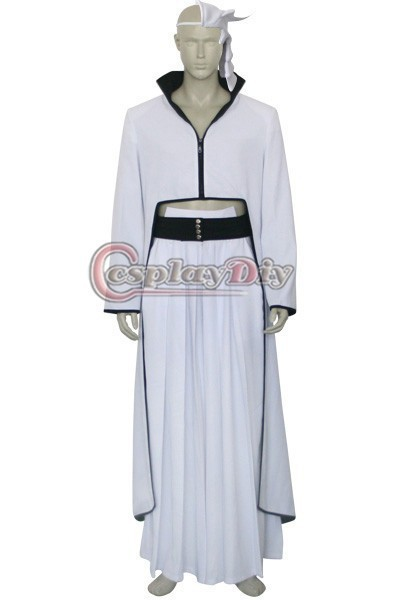 2015 Custom Made Bleach Ulquiorra Cosplay Costume Anime Cosplay Costumes Anime Costumes Halloween Costumes y-BH 02