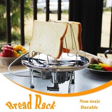 Stainless Steel Bread Toast Holder Bread Cooling Rack
