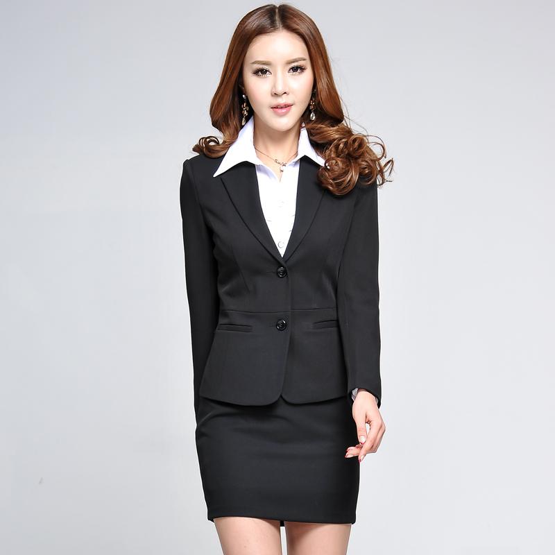 2014 New Women Office Suit Set Women Work Wear Womens ...