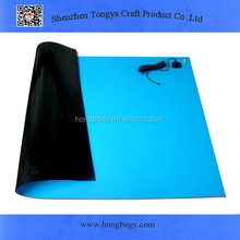 Natural rubber customized rubber table mat/table placemat