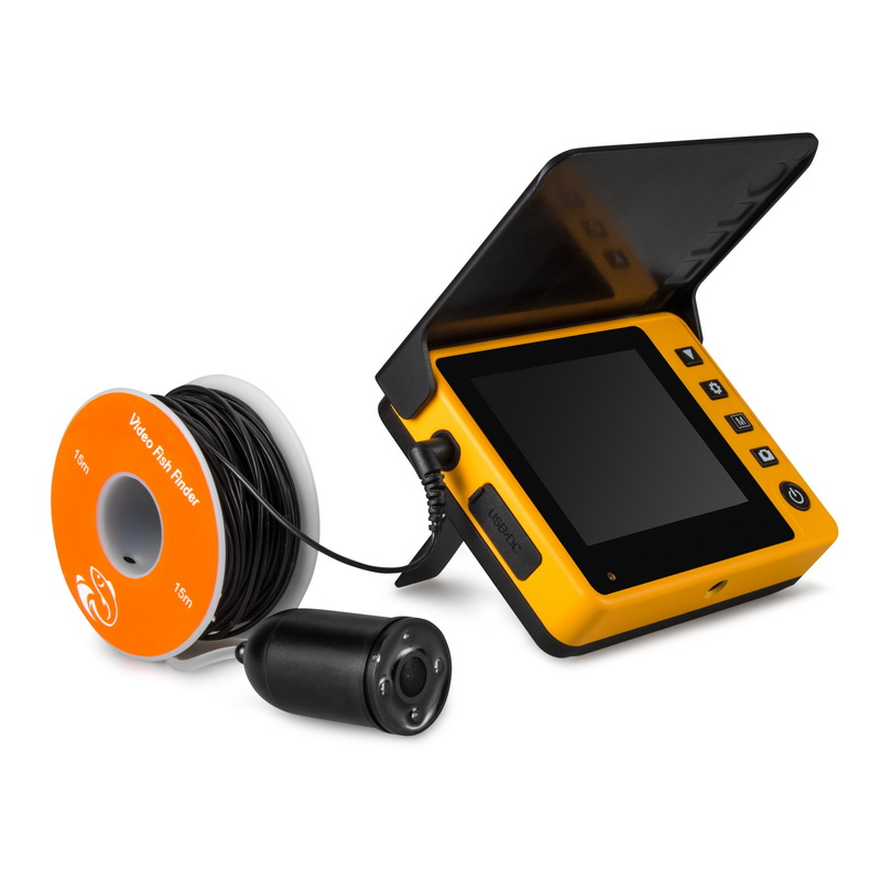 Deeper Fish Finder 3.5 inch 40kgs Strength Bait Boat Fish Finder With Photo/Video Capture