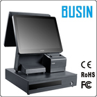 "BUSIN intel core i3 15 ""pos machine avec 2 moniteurs pos pour la vente au détail"