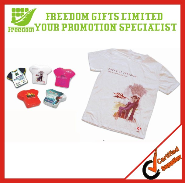 Cheap Custom Brand Printed Compressed T-Shirts
