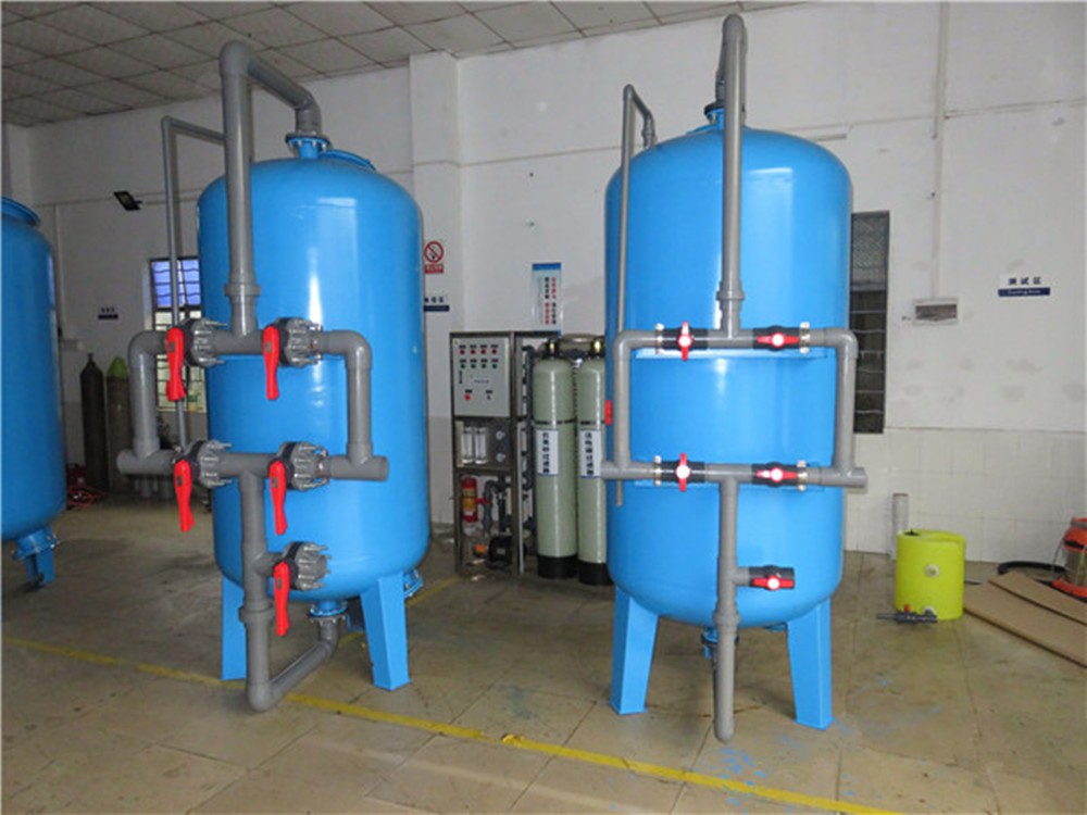 Activated Carbon Sand Multimedia Filter Tank Price In
