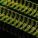 New Arrival Luminous Green Nylon Coated Double Loop Wire Twin Ring Wire O Double Coil