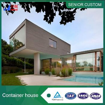 Beautiful large container house