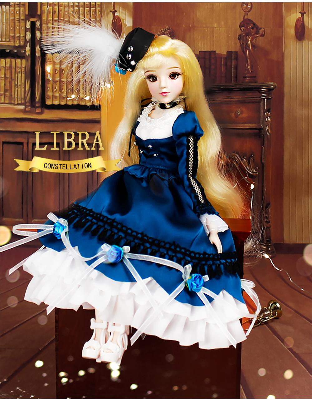 Mmgirl 12 Constellation Libra Bjd Blythe Reborn Realistic