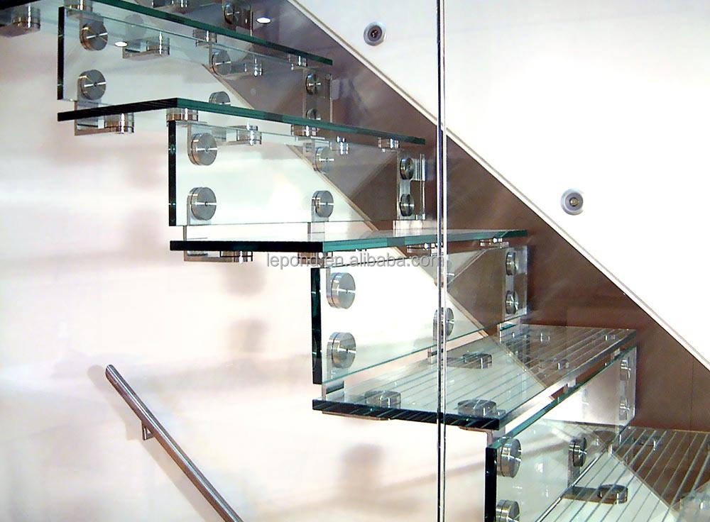 N117 Wholesale China Cheap Glass Stairs Price, Safety Custom Cantilever Glass  Staircase, High Quality
