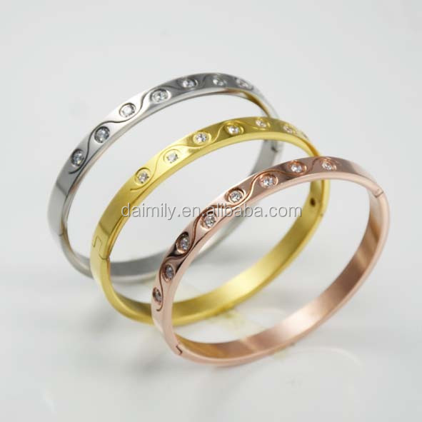 China's alibaba women accessories fashionable jewelry stainless steel bangle