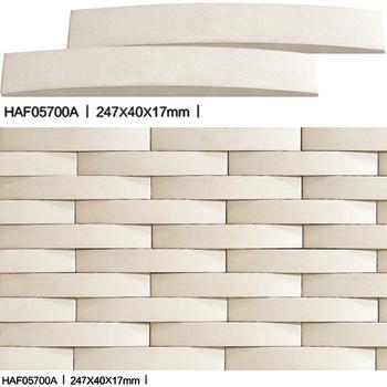 3D Ocean Waves Exterior Ceramic Cladding Tiles Wall Tile