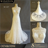 Alibaba Guangzhou Dresses Factory designs wedding dresses ivory lace bridal dress
