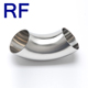 RF Sanitary Stainless Steel Pipe Fitting Elbow/Bend Manufacturer