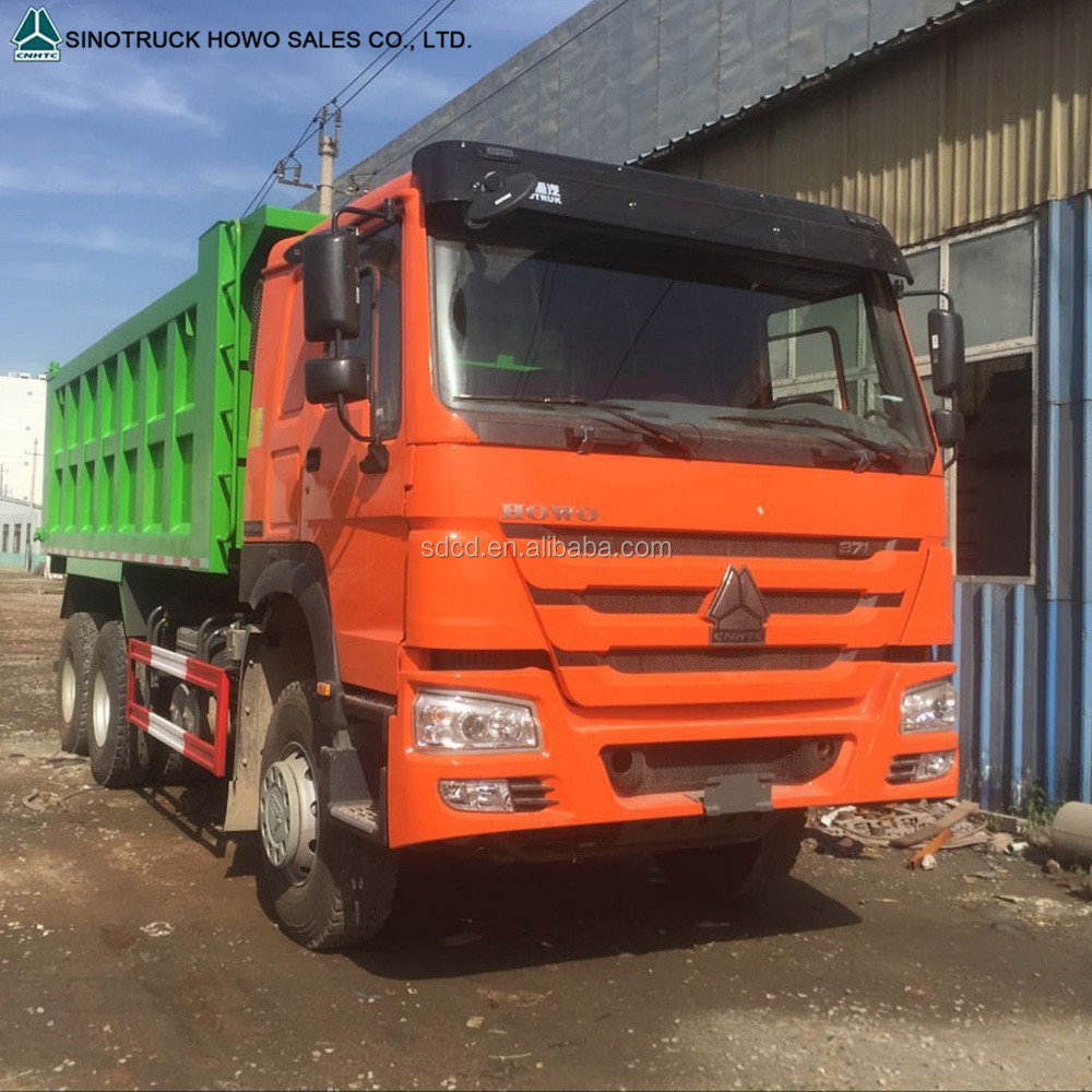 336HP/371HP 30 tons 6x4 mining tipper damper truck for sand transportation