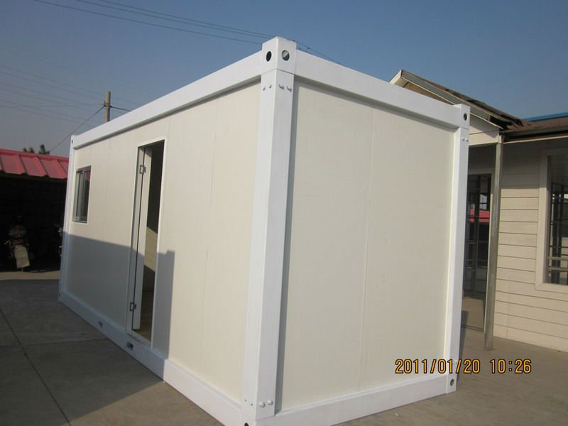 modular prefabricated flat pack container office