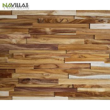 Solid Wood Wall Panel Tile