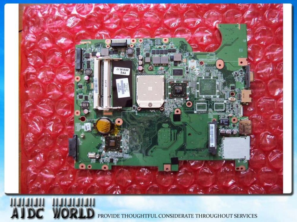 Best quality Motherboard FOR HP G61 Compaq Presario CQ61 AMD S1G3 CPU 577065-001 577064-001 DAOOP8MB6D1