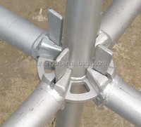 Q345 ringlock scaffold with steel catwalk