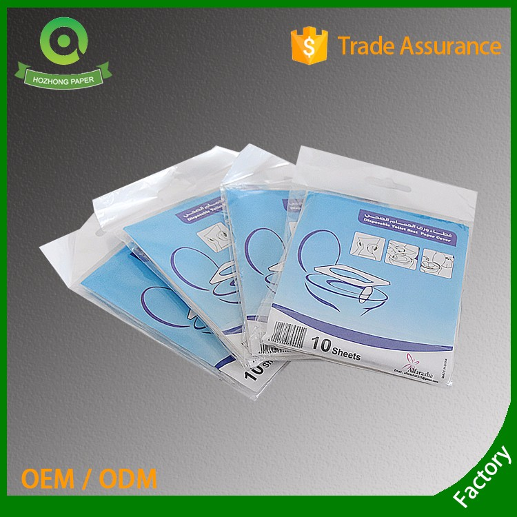 disposable clean toilet seat cover paper