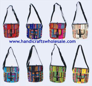 Colorful Pocketbook Handbags Wool Bags Handmade Purses Knitting Great Design Affordable Novelty Gifts Ecuador