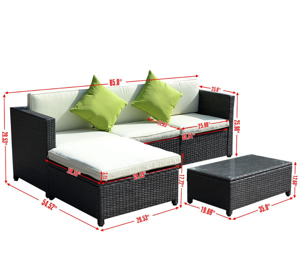china supplier glass top rattan garden furniture ,garden furniture poland