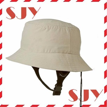 Wide Brim Uv Protection Plain Bucket Surf Hat With Chin Strap - Buy ... b92f1fbb161