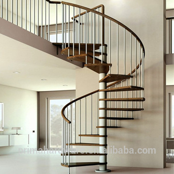 Low Cost Stair With Iron Railing Designs And Wood Treads