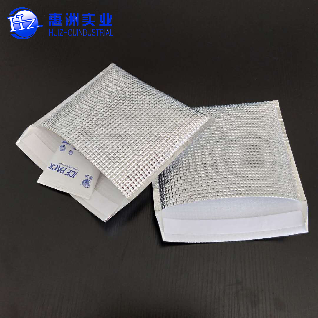 disposable Drug Shipper Aluminum Foil Pouch enevloep EPE foam thermal cooler bag/Cold Chain Shipping Aluminum Foil Foam bag