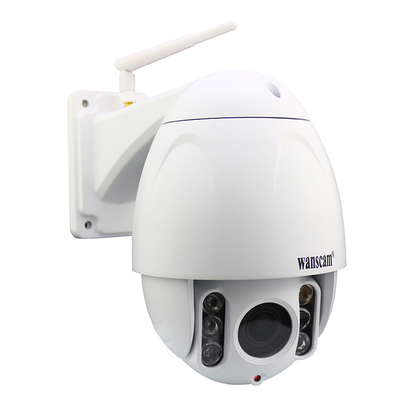 Wanscam hot selling 2 MP PTZ 5X Zoom waterproof P2P CCTV ip cameras