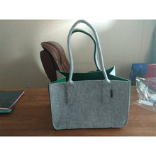 new style felt shopping bag/big bag can be customized