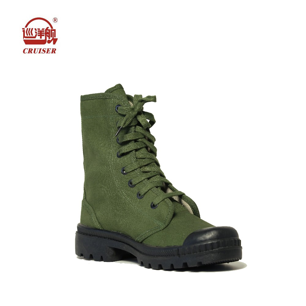 Cheap Men Olive Army Green Color Rubber