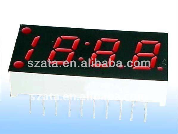 days hours minutes seconds led timer