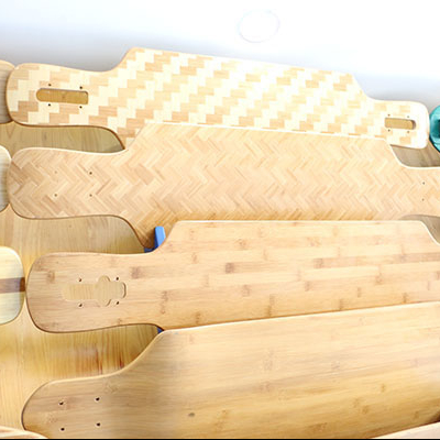 bamboo skateboard longboard deck blank deck