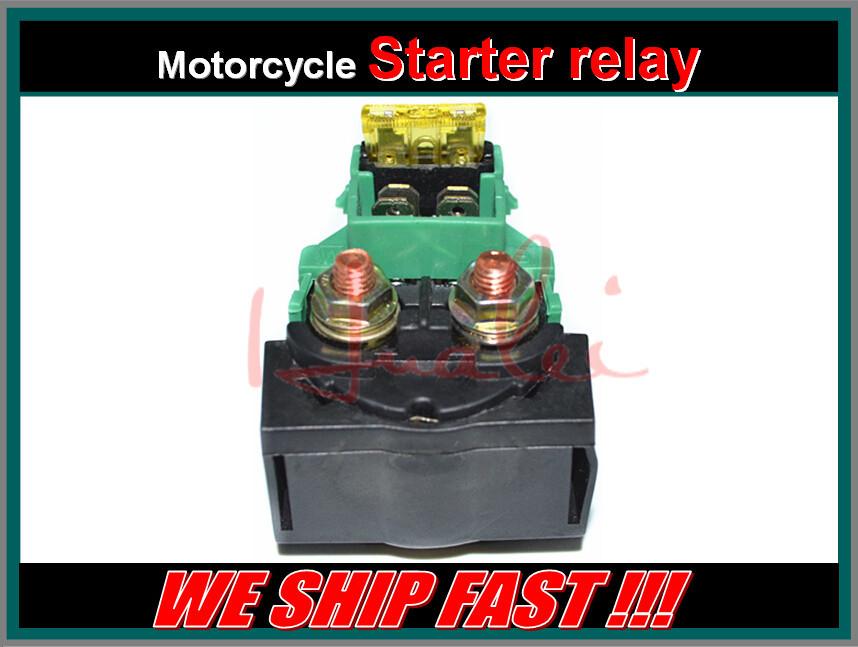 Бесплатная доставка мотоцикл электрические части стартер электромагнитный реле для HONDA VF750S V45 сабля 748cc двигателя 1982-1983