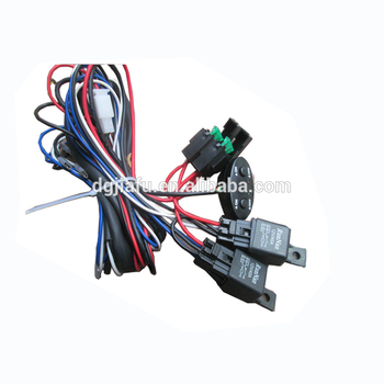 Excellent Universal Derale 16765 Dual Fan Relay Harness Kit On Off Switch Wiring 101 Breceaxxcnl