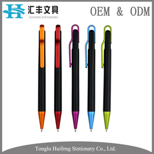 HF0248 New Design Classic Shape On Sale High Quality Slogan Pen With Logo