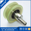 Custom PU V groove pulley wheel with bearing for Ceramic Machine