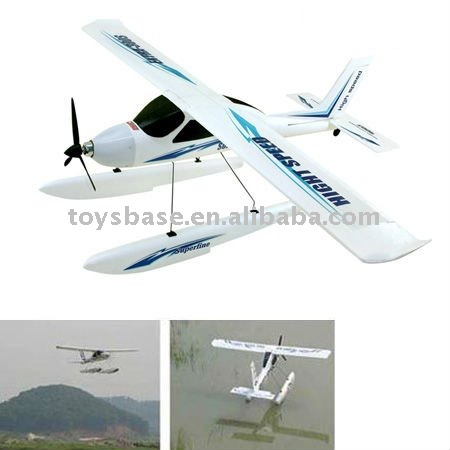4 Channel RC model airplane
