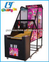 Shooting Hoops coin operated basketball amusement game machine