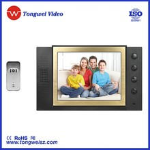 8 inch 2 way wired intercom access control intercom device (Y- DP-889) with high resolution ourdoor camera TW-66for house