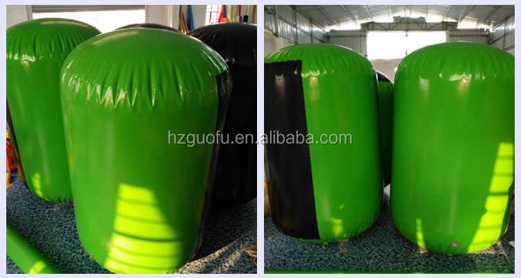 Customized Heavy Duty PVC Inflatable Triathlon Marker Bouy Pontoons Fender for Ship
