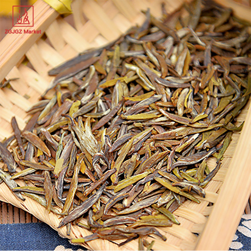 Chinese Tea Tin Box Mengding Slimming Yellow Tea Loose Leaf Tea