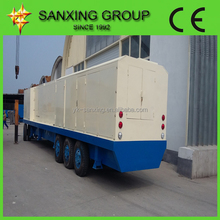 sanxing ubm 600-305 metal cold roof roll forming machine /curve roof span roll forming machine