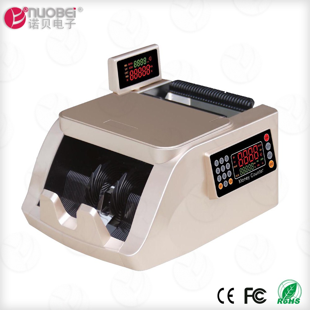 2017 best portable automatic digital world money currency note counting machines