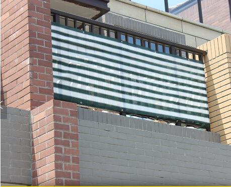 Blauwe En Witte Strepen Plastic Gordijnen Voor Balkon,Plactic ...